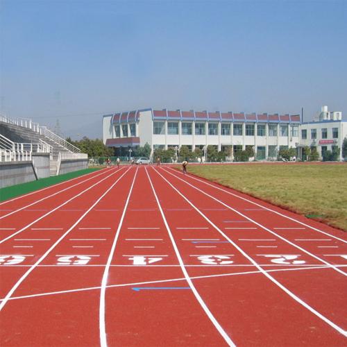 贵州六盘水盘县中学混合型跑道